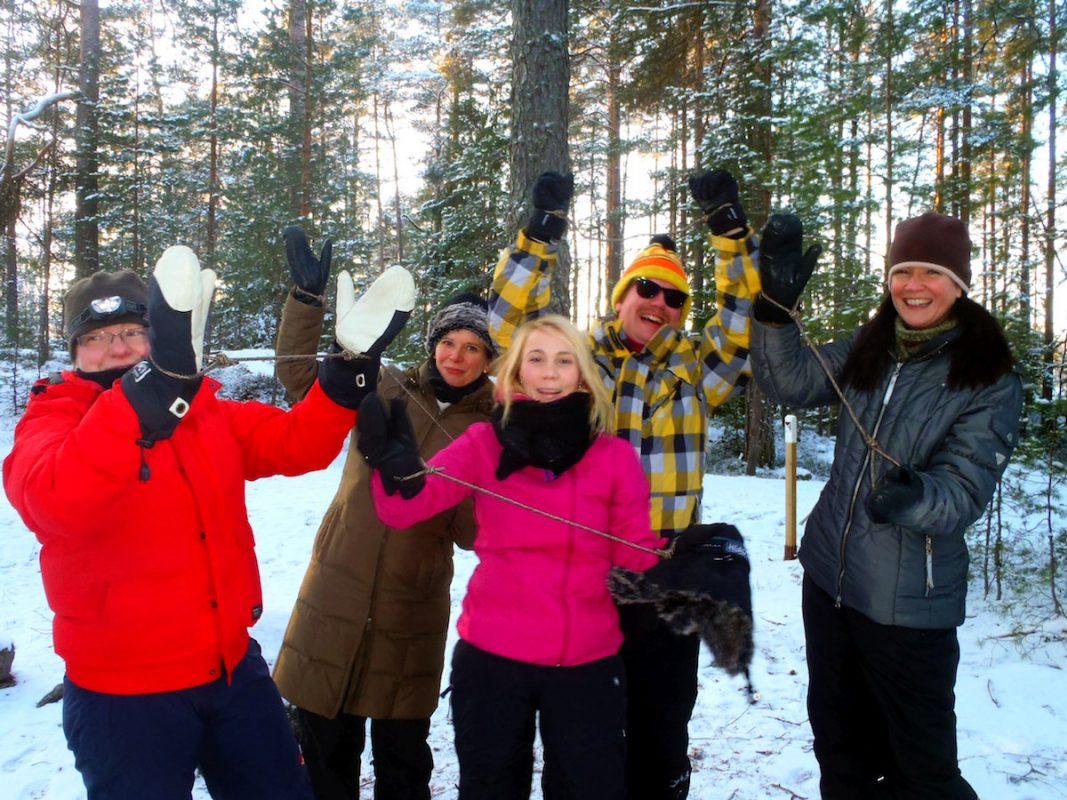 Virkistyspäivät ja tykypäivät lähellä Helsinkiä